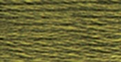 Dark Khaki Green - DMC Pearl Cotton Skein Size 3 16.4yd