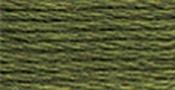 Dark Green Grey - DMC Pearl Cotton Skein Size 3 16.4yd