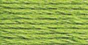 Bright Chartreuse - DMC Pearl Cotton Skein Size 5 27.3yd