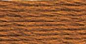 Ultra Very Dark Topaz - DMC Pearl Cotton Skein Size 5 27.3yd
