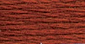 Dark Red Copper - DMC Pearl Cotton Skein Size 5 27.3yd