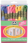 Popular Colors 36/Pkg - DMC Embroidery Floss Pack 8.7yd