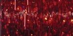 Christmas Red - Sulky Silver Metallic Thread 250yd