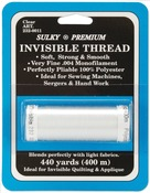Clear - Sulky Premium Invisible Thread 440yd