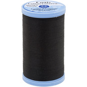 Black - Cotton Covered Quilting & Piecing Thread 500yd