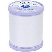 White - Dual Duty XP Paper Piecing Thread 225yd