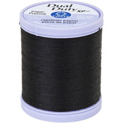 Black - Dual Duty XP Paper Piecing Thread 225yd