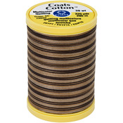 Chocolate Swirl - Cotton Machine Quilting Thread Multicolor 225yd