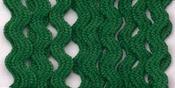 """Emerald - Baby Rickrack 1/4""""X4yd"""