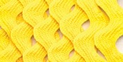 "Canary - Medium Rickrack 1/2""X2-1/2yd"