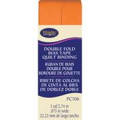 "Orange Peel - Double Fold Quilt Binding 7/8""X3yd"