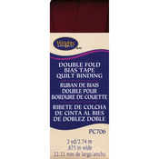 """Ox Blood - Double Fold Quilt Binding 7/8""""X3yd"""