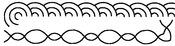 "1"" Borders 4""X15"" - Quilt Stencils"
