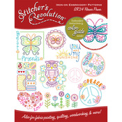 Flower Power - Stitcher's Revolution Iron-On Transfers