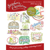 Spice Of Life - Stitcher's Revolution Iron-On Transfers