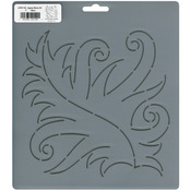 """7"""" Fancy Leaf - Quilt Stencils By Patricia Ritter"""
