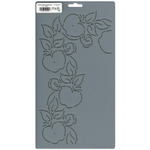 """4"""" Apple Corner - Quilt Stencils By Patricia Ritter"""