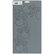 "4"" Apple Corner - Quilt Stencils By Patricia Ritter"