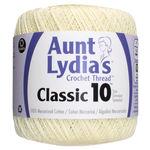 Cream - Aunt Lydia's Classic Crochet Thread Size 10