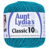 Peacock - Aunt Lydia's Classic Crochet Thread Size 10