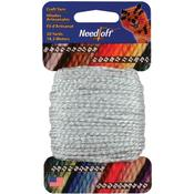 Gray - Needloft Craft Yarn 20yd