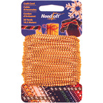 Metallic Gold - Needloft Novelty Craft Cord 20yd