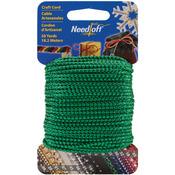 Metallic Green - Needloft Novelty Craft Cord 20yd
