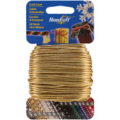 Solid Gold Craft Cord - Needloft Novelty - Cottage Mills