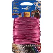 Solid Magenta - Needloft Novelty Craft Cord 20yd