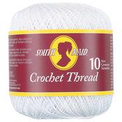 White - South Maid Crochet Cotton Thread Size 10