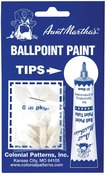 Aunt Martha's Ballpoint Paint Tube Replacement Tips 6/Pkg-