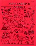 Puppies - Aunt Martha's Iron-On Transfer Book