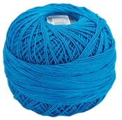 Bright Turquoise Dark - Lizbeth Cordonnet Cotton Size 20