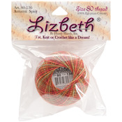 Autumn Spice - Lizbeth Cordonnet Cotton Size 80