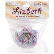 Ocean Sunset - Lizbeth Cordonnet Cotton Size 80