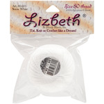 White - Lizbeth Cordonnet Cotton Size 80