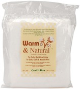 "Craft Size 34""X45"" - Warm & Natural Cotton Batting"