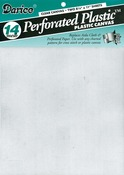 "Clear - Perforated Plastic Canvas 14 Count 8.5""X11"" 2/Pkg"