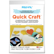 "5""X7"" - Quick Craft Foam 4/Pkg"