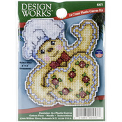 "4""X3"" 14 Count - Gingerbread Ornament Plastic Canvas Kit"