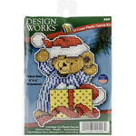 "4""X3"" 14 Count - Bear Ornament Plastic Canvas Kit"
