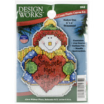 "4""X3"" 14 Count - Snowman Ornament Plastic Canvas Kit"