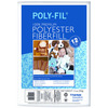 Poly - Fil Premium Polyester Fiberfill-12oz FAIRFIELD-Poly-Fil Fiberfill. This high-quality 100% polyester fiberfill features superior resiliency, smooth consistency, will not bunch, and is non-allergenic and washable. Great for stuffing toys, dolls, pillows and more! This package contains 12oz of Poly-Fil Fiberfill. Made in USA.