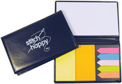 Black - Stitch Happy Sticky Note Organizer