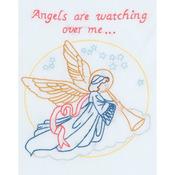 "Angel - Stamped White Sampler 8""X10"""