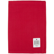 "Waffle Weave Towel 20""X28""-Bright Red"
