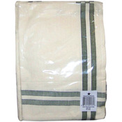 "Sage Stripe - Cream Towel 20""X28"""