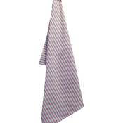 "Red - White Plain Weave Striped Towel 20""X28"""