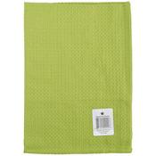 "Lime Green - Waffle Weave Towel 20""X28"""