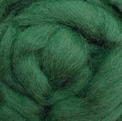 "Moss - Wool Roving 12"" .22oz"